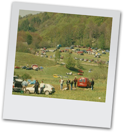 Camping on Natura 2000 site during May 1 celebrations